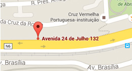 Mapa Google Maps Sede SEP